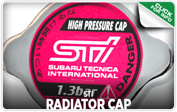 Browse our STI Radiator Cap information at Carter Subaru Shoreline