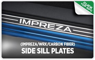 Click to  browse our carbon fiber door side sill plates performance parts  information at Carter Subaru Shoreline
