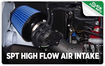 Click to browse our SPT High Flow Air Intake performance parts information at Carter Subaru Shoreline