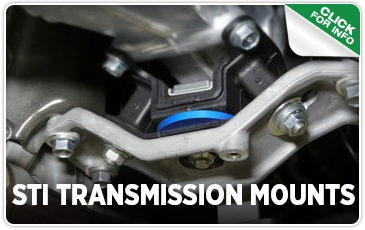 Click to view our STI Transmission Mount performance parts information in Seattle, WA