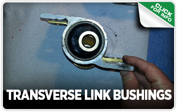 Click to view our STI Transverse Link Bushings performance parts information in Seattle, WA