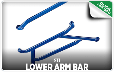 Click to browse our STI Lower Arm Bar performance parts information at Carter Subaru Shoreline