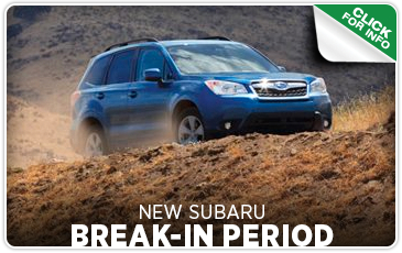 Click to get answers to Subaru break-in period FAQs in Seattle, WA