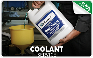 Click to view our Subaru coolant system service in Seattle, WA