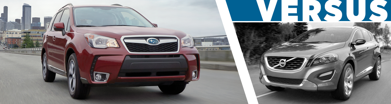 Subaru Dealership Seattle >> Subaru Forester Vs Volvo Xc60 New London Ct Secor Subaru