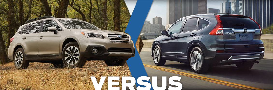 2016 subaru outback vs honda cr v model comparison