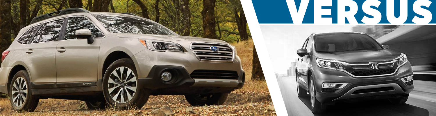 Compare the new 2017 Subaru Outback to the Honda CR-V in Seattle, WA