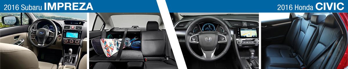 Carter Subaru Shoreline >> Subaru Impreza Vs Honda Civic Secor Subaru