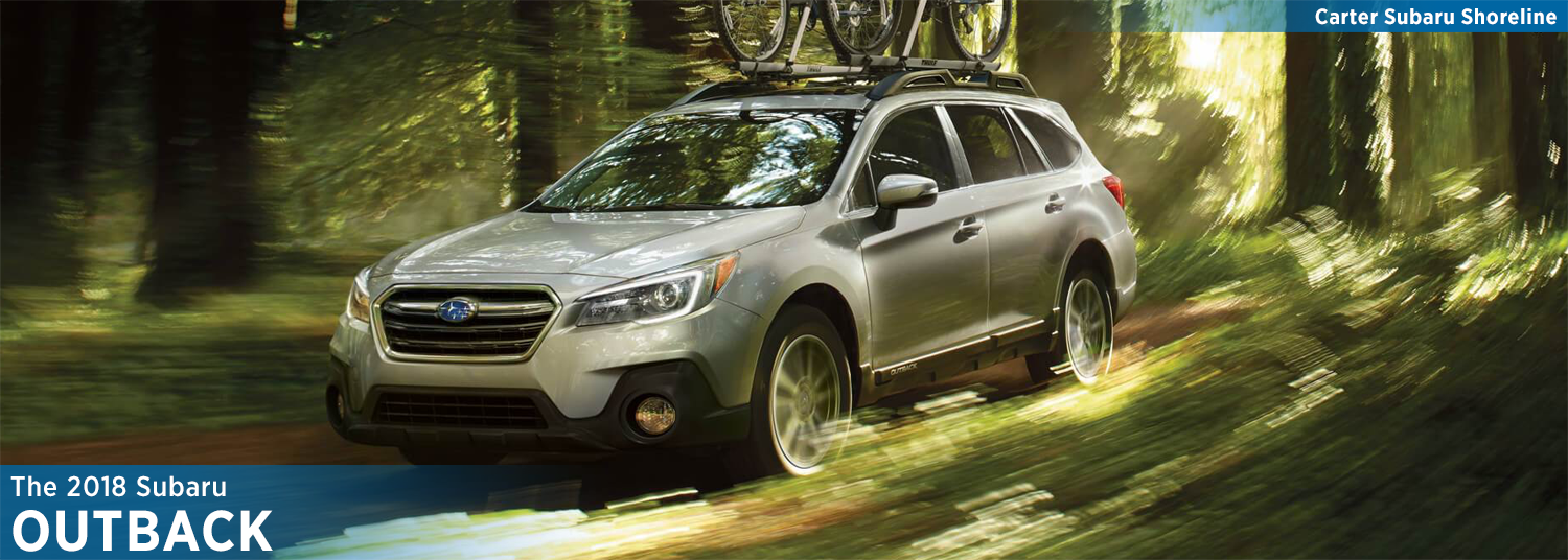 2018 Subaru Outback Features & Details - model vehicle