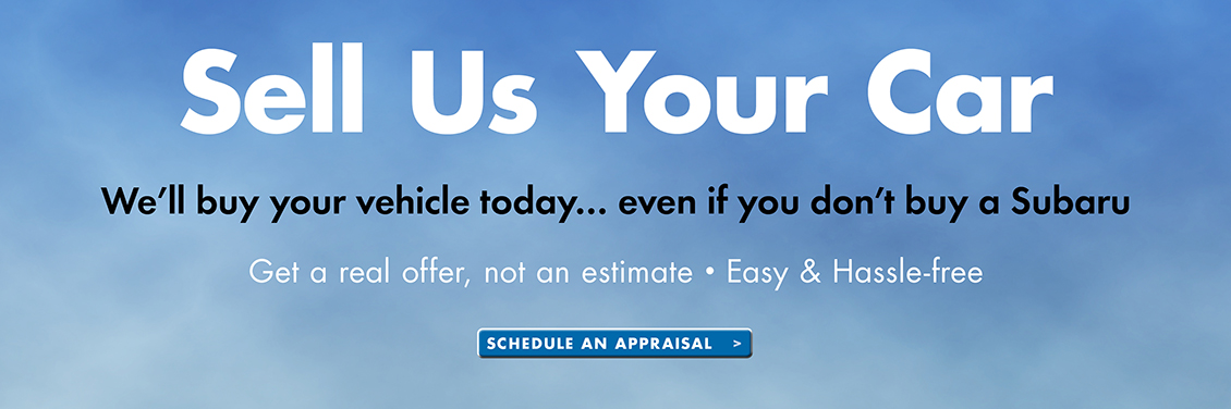 Sell Us Your Car at Carter Subaru Shoreline in Seattle, WA