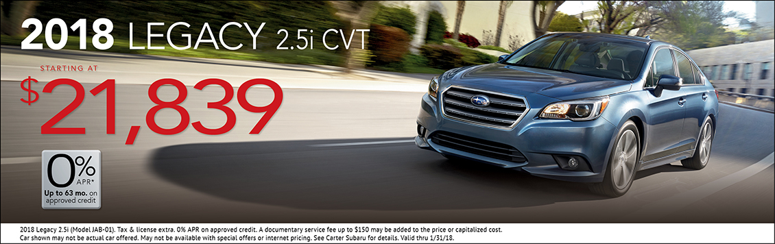 Carter Subaru Shoreline >> New Car Specials Seattle Subaru Sales Lease Discount Deals