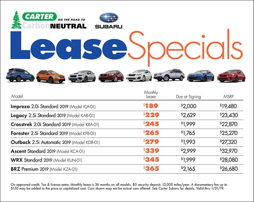 lease seattle subaru