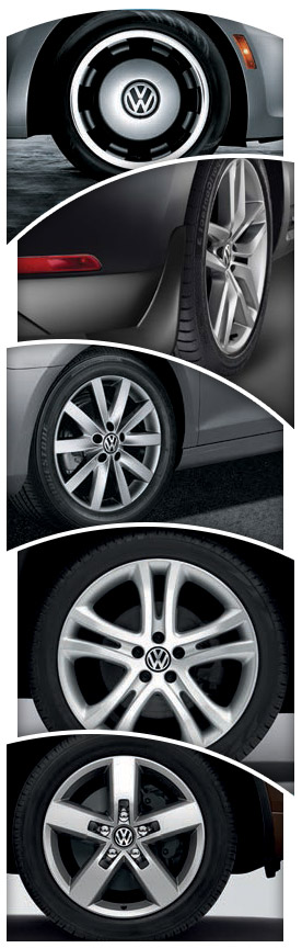 Volkswagen Vehicle Tires & Wheels