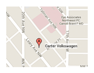 Click for Directions to Carter Volkswagen in Ballard
