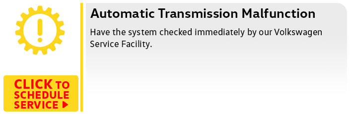 Volkswagen Transmission Malfunction