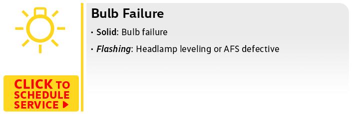 Volkswagen Bulb Failure