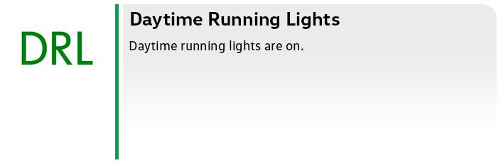 Volkswagen Daytime Running Lights Service