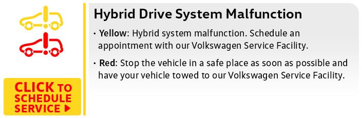 Volkswagen Hybrid Drive Service