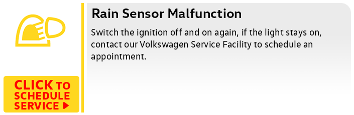 Volkswagen Rain Sensor Service