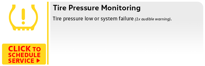 Volkswagen Tire Pressure Monitor