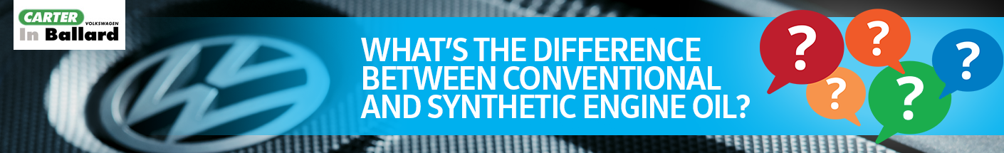 What's the difference between conventional and synthetic engine oil?