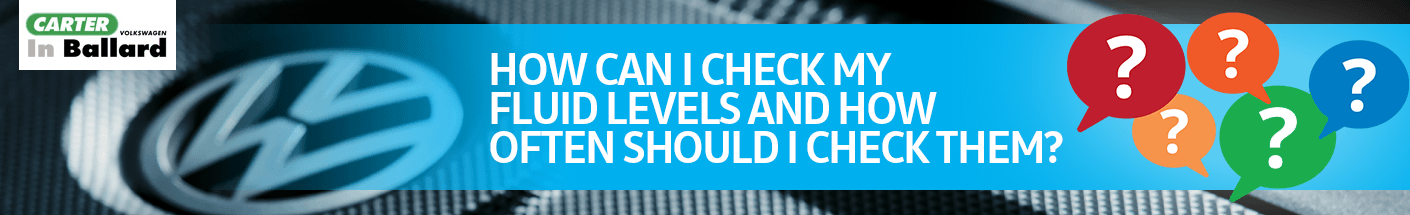 How can I check my fluid levels and how often should I check them?