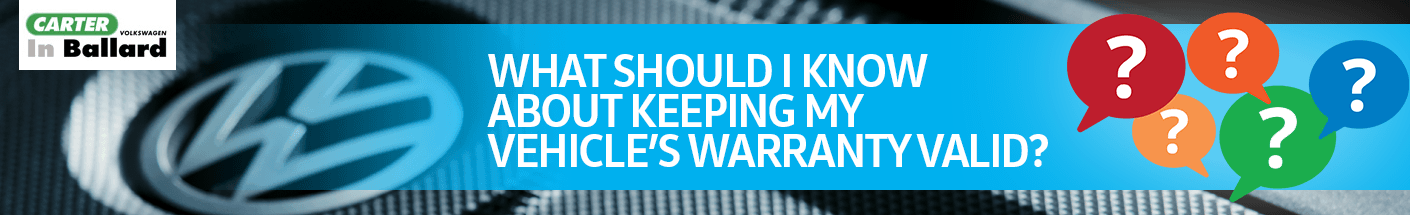 Volkswagen FAQ - How Can I Keep the Warranty on My Volkswagen Valid?
