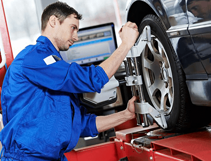 Check out our wheel alignment check and service specials at Carter Volkswagen in Ballard