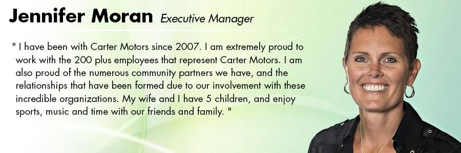 Jennifer Moran, Executive Manager at Carter Volkswagen in Seattle, WA