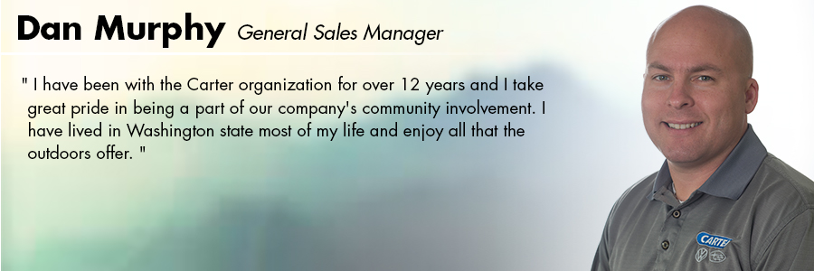 Dan Murphy, General Sales Manager at Carter Volkswagen in Seattle, WA