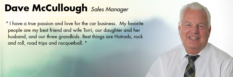 Dave McCullough, Sales Manager at Carter Volkswagen in Seattle, WA