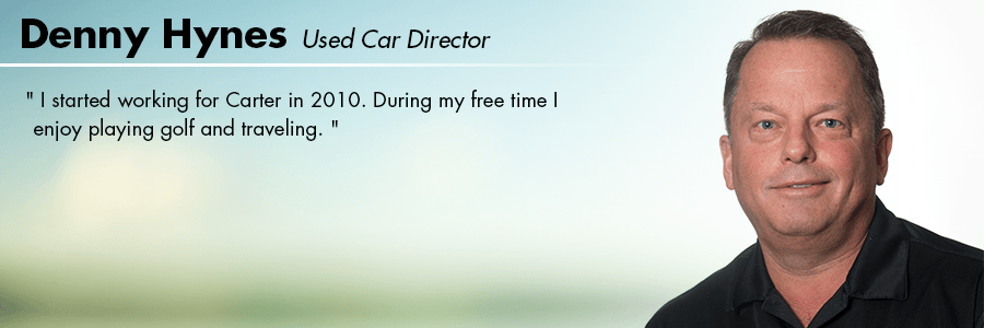 Denny Hynes - Used Car Director at Carter Volkswagen in Seattle, WA