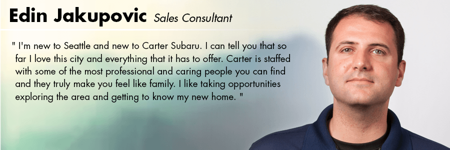 Edin Jakupovic - Sales Consultant at Carter Volkswagen in Ballard