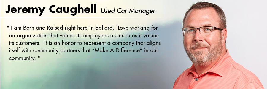 Jeremy Caughell, Used Car  Manager at Carter Volkswagen in Seattle, WA