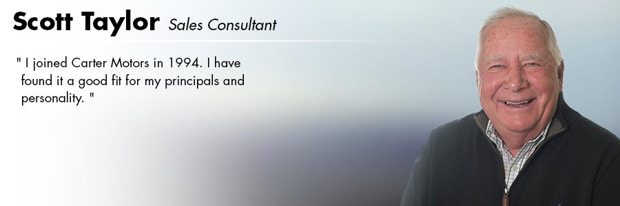 Scott Taylor, Sales Consultant at Carter Volkswagen in Seattle, WA