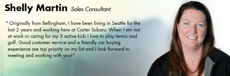 Shelly Martin, Sales Consultant at Carter Volkswagen in Seattle, WA