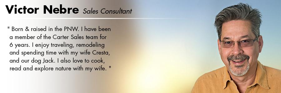 Victor Nebre, Sales Consultant at Carter Volkswagen in Seattle, WA