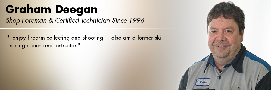 Graham Deegan, Shop Foreman and a Certified Volkswagen Technician at Carter Volkswagen in Seattle, WA