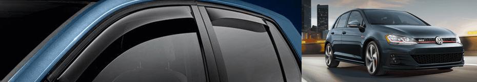 Get Side Window Deflector Kit for your Golf GTI model at Carter Volkswagen in Ballard
