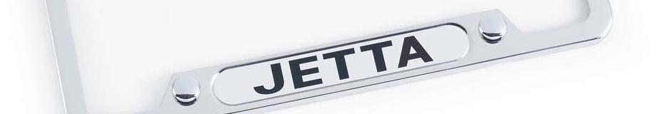 Order a Jetta license plate cover online at Carter Volkswagen in Ballard