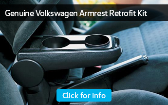 Click to view our Volkswagen armrest retrofit kit parts information in Seattle, WA