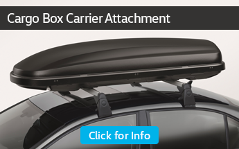 Learn more about the cargo box carrier at Carter Volkswagen in Ballard