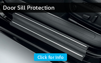 Click to browse our door sill protector information from Carter Volkswagen in Seattle, WA