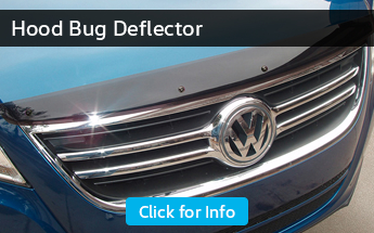 Click to browse our hood bug deflector information from Carter Volkswagen in Seattle, WA