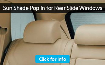 Browse our sunshade pop in for rear windows parts information at Carter Volkswagen in Ballard