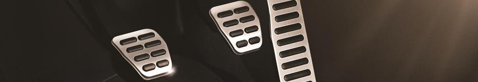 Buy your sport pedal cap set at Carter Volkswagen in Ballard