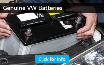 Click to view our genuine Volkswagen battery parts information in Seattle, WA