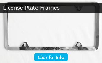 Click to View Our Parts Information on License Plate Frames in Seattle, WA