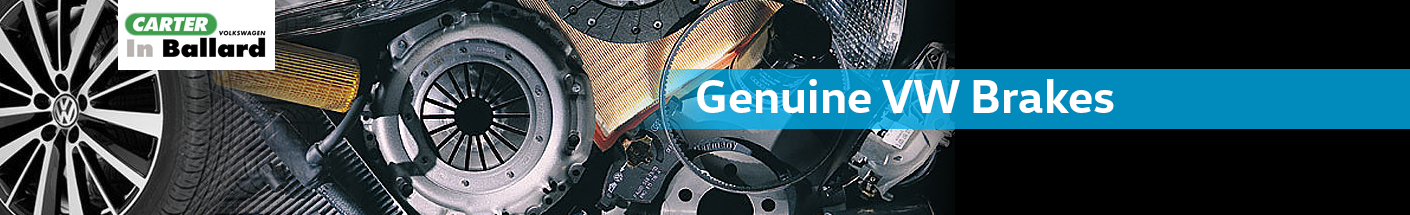 Genuine Volkswagen Brakes Parts Information in Seattle, WA