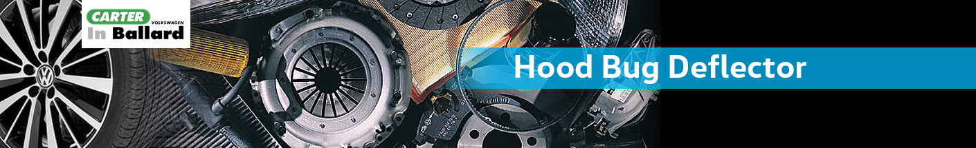 Volkswagen Hood Bug Deflector Parts Information in Seattle, WA